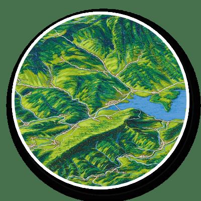 Maľované mapy