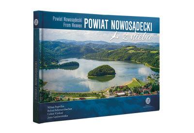 Kniha Powiat Nowosądecki z nieba