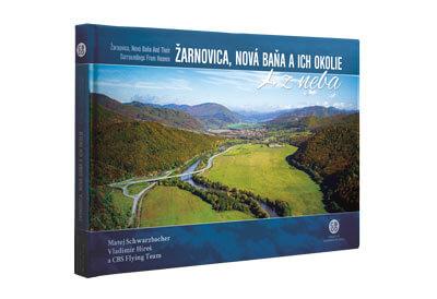 Kniha Žarnovica, Nová Baňa a ich okolie z neba